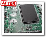 Ultrasonic cleaning for PCB